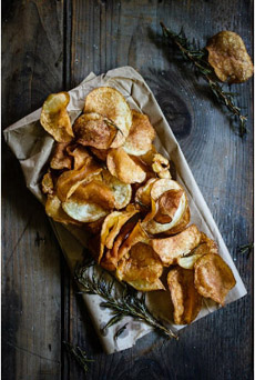 The surprising history of potato chips
