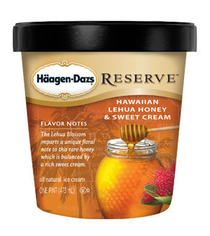 Haagen Dazs Reserve - Lehua Honey Pint