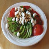 Salad With Perlini Mozzarella