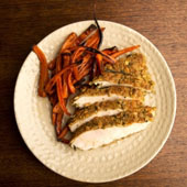 Pumpkin Seed Crusted Chicken