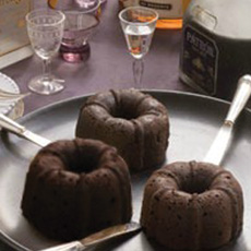 Mini Bundts With Fine Spirits