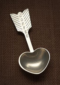 Heart Shaped Coffee Scoop