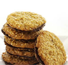 Benne wafers in a cookie sandwich. Photo courtesy Wisconsin Milk ...
