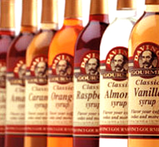 Da Vinci coffee syrups