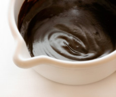 Chocolate topping