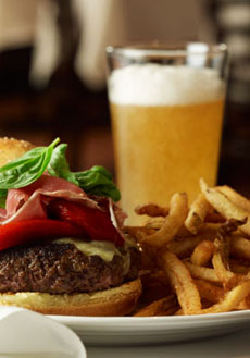Beer, Burger & Fries