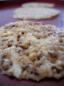 Kitchen Table Bakers Garlic Parmesan Crisps