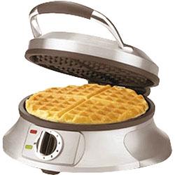 rose pattern belgium waffle maker