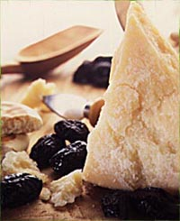 Parmigiano WIth Prunes