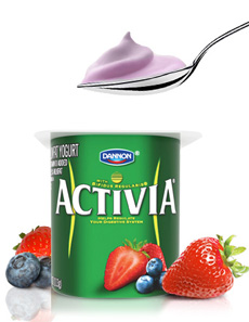 Activia Yogurt