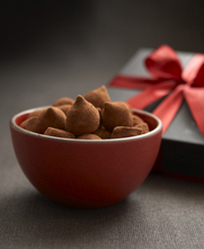 Cocoa Covered Truffles