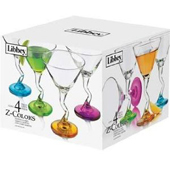 Color Martini Glasses