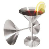 Steel Martini Glass