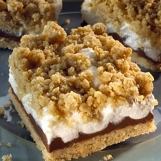 Smores Cookie Bar