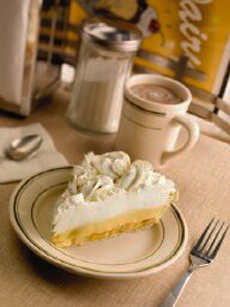 Banana cream pie photo courtesy Wisconsin Milk Marketing Board.