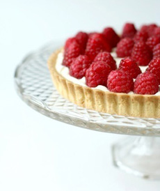 Raspberr Cream Pie