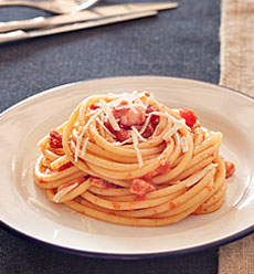 Bucatini with Amatriciana Sauce
