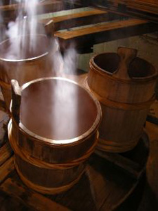 Japanese Sake Brewing Buckets