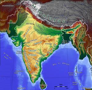 Extra Peninsular India