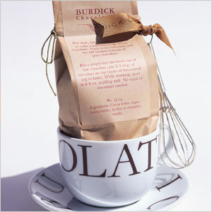 Burdick Hot Chocolate