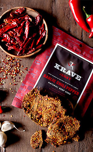 Garlic Chili Pepper Krave Jerky