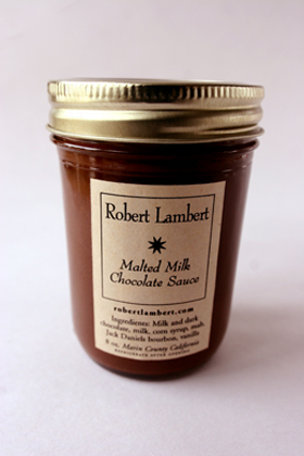 Robert Lambert Malted Milk Chocolate Sauce