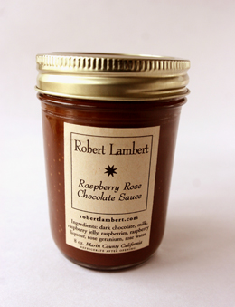 Robert Lambert Raspberry Rose Chocolate Sauce