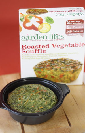 Roasted Vegetable Souffle Garden Lites