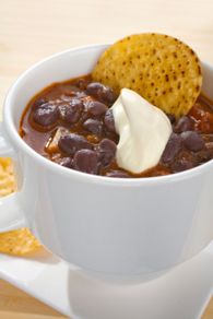 Black Bean Soup With Salsa