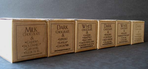 Brown Paper Chocolates