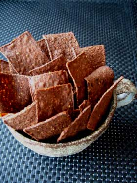 Chocolate Tortilla Chips