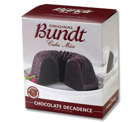 Chocolate Decadence Cake Mix
