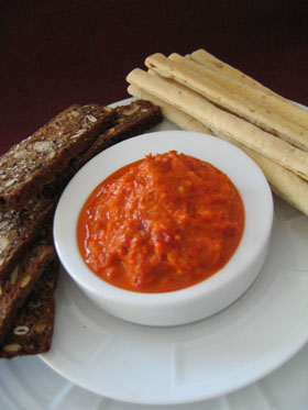 Spicy Red Pepper Dip