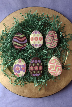 Marshmallow Easter Eggs