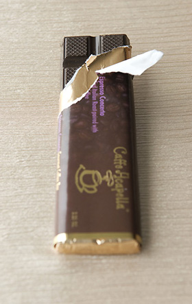 Caffe Acapella Coffee Candy Bar