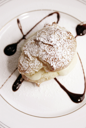 Ice Cream Profiterole