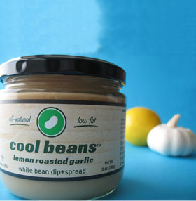 Cool Beans Lemon Garlic Dip