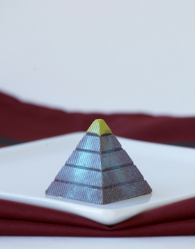 Pistachio Pyramid Chocolate