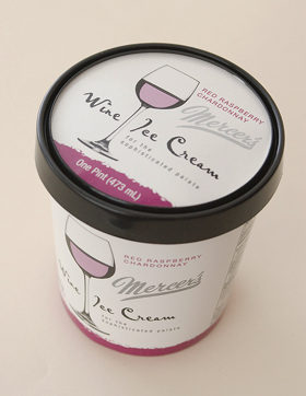 Chardonnay Ice Cream