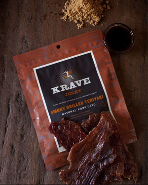Smoky Teriyaki Pork Jerky