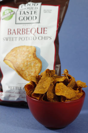 Food Should Taste Good Barbeque Sweet Potato Chips