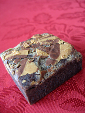Thai Coffee Brownie