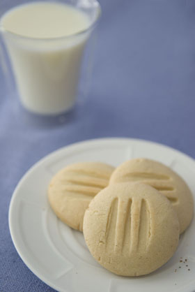 Vanilla Butter Cookies