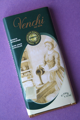 Venchi White Chocolate Bar