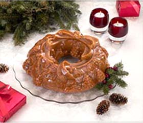 Wreath Bundt