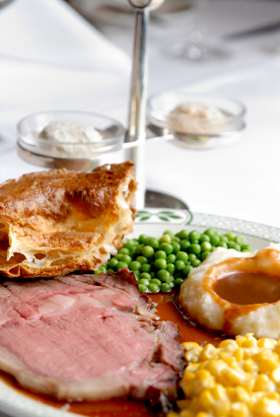 Roast Beef Yorkshire Pudding