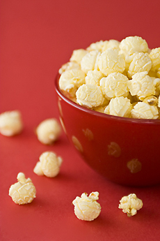 The Nibble: Cheese Popcorn