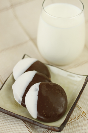 Gluten Free Black and White Cookies