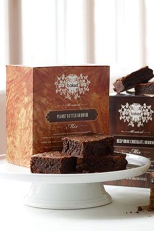 Baked NYC Brownies